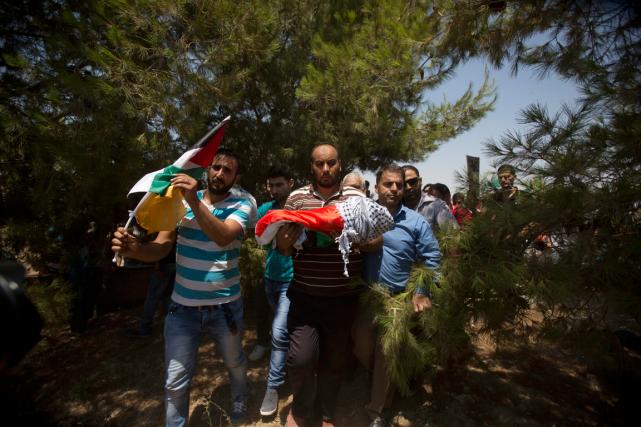 Ali Dawabcheh, 18 mois, a été brûlé vif... (PHOTO AP)