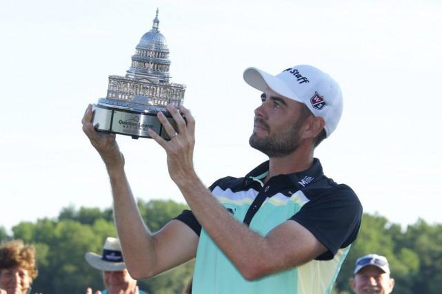 Troy Merritt a signé une première victoire bien méritée sur le circuit de la... (PHOTO USA TODAY)
