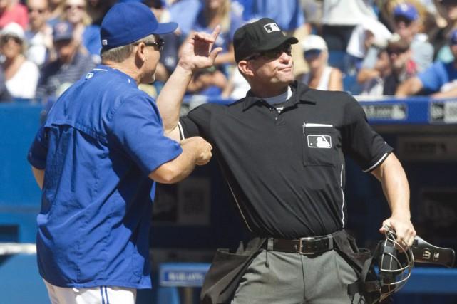 Le gérant des Blue Jays, John Gibbons, a... (PHOTO LA PRESSE CANADIENNE)