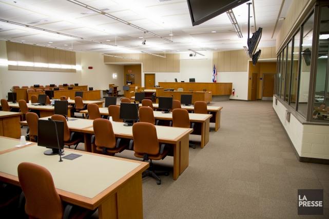 Le procès de l'opération SharQc au Centre judiciaire... (Archives La Presse)