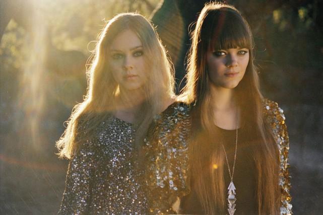 Après trois albums, Johanna et Klara Söderberg de... (PHOTO FOURNIE PAR SONY MUSIC)