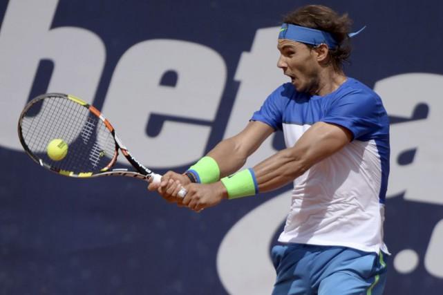 Rafael Nadal gagne une place au classement ATP... (PHOTO AP)
