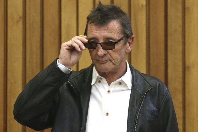 Phil Rudd... (PHOTO AP)