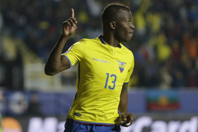 Enner Valencia... (PHOTO ARCHIVES AP)