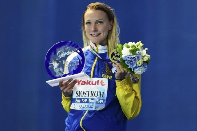 Sarah Sjostrom... (PHOTO AFP)