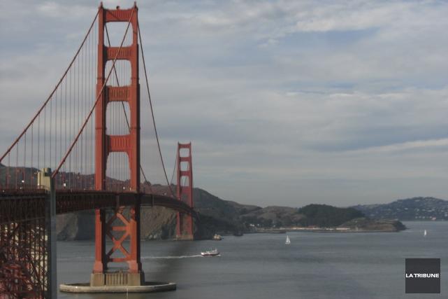 J'ai marché un peu beaucoup dans San Francisco,... (La Tribune, Jonathan Custeau)