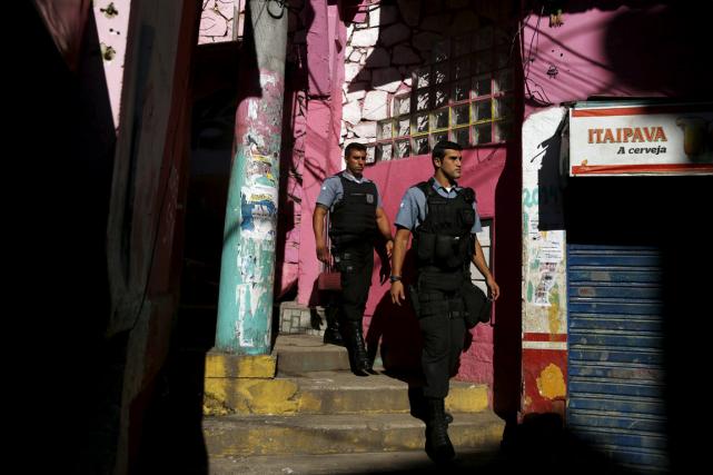 Les homicides à la suite d'interventions policières sont... (PHOTO REUTERS)