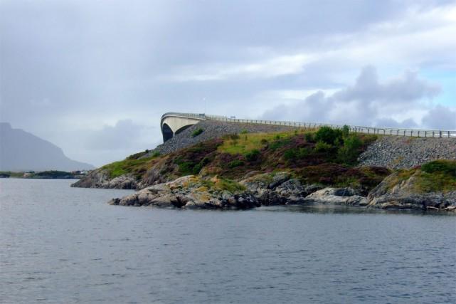 Route de l'Atlantique, Norvège... (PHOTO FOURNIE PAR ELIZABETH GOMM)