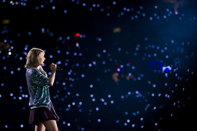 Taylor Swift elle-même a retweeté dimanche l'article du Billboard contenant... (Photo AP)