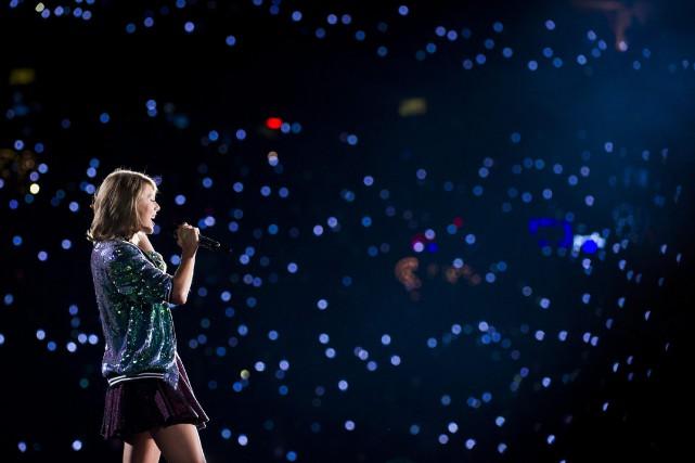 Taylor Swift elle-même a retweeté dimanche l'article duBillboardcontenant... (Photo AP)