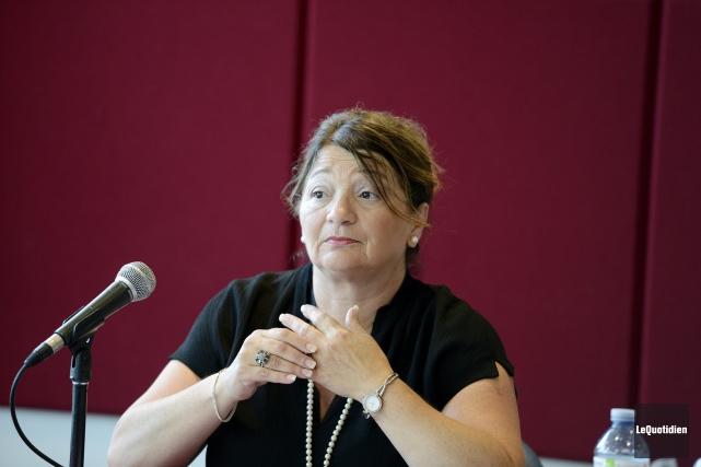 La vérificatrice générale de Saguenay, Rina Zampieri.... ((Photo Le Quotidien, Jeannot Lévesque))