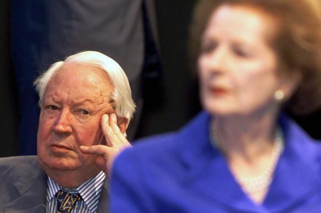 Edward Heatha été premier ministre conservateur de la... (Photo Dylan Martinez, archives Reuters)