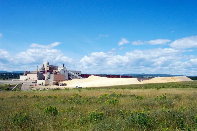 L'usine, le jour de sa fermeture, le 4... (Collaboration spéciale Gilles Gagné)