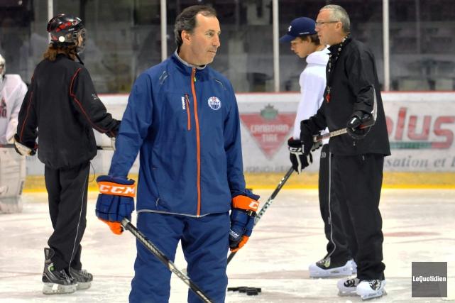 Que réserve la prochaine saison de hockey à... ((Archives Le Quotidien))
