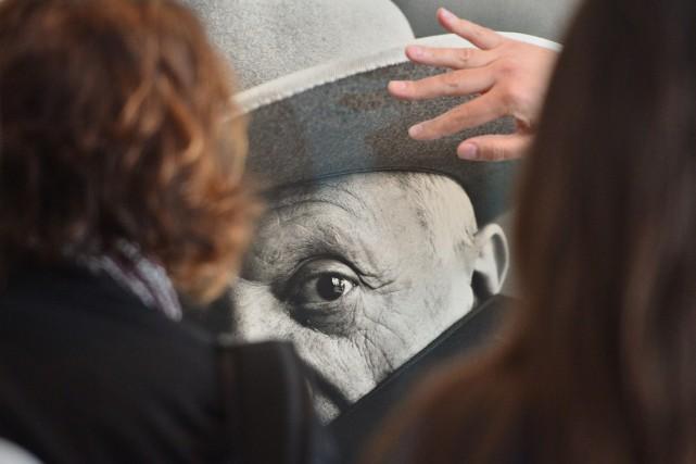 Un tableau de Picasso d'une valeur estimée à plus de 25 millions d'euros,... (Photo archives AFP)