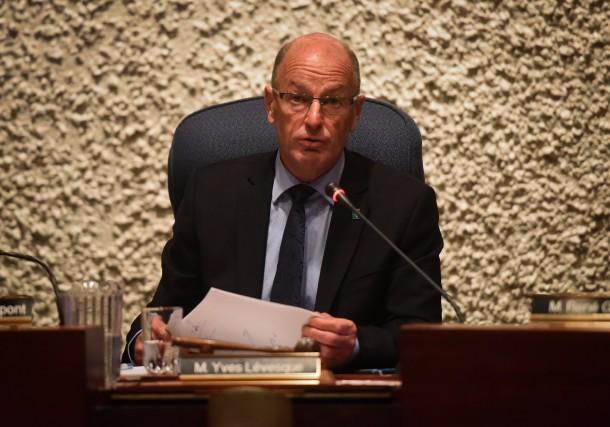 La maire de Trois-Rivières Yves Lévesque.... (Photo: François Gervais Le Nouvelliste)