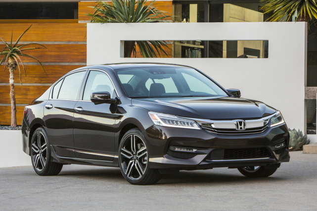 La Honda Accord 2016... (Photo fournie par Honda)