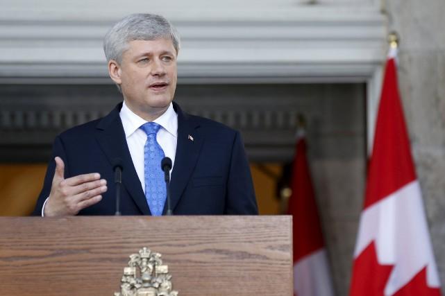 Le gouvernement Harper, qui espérait conclure cette entente... (Photo Blair Gable, Reuters)