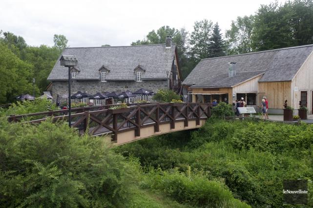 Le Moulin Michel.... (Photo: Stéphane Lessard Le Nouvelliste)