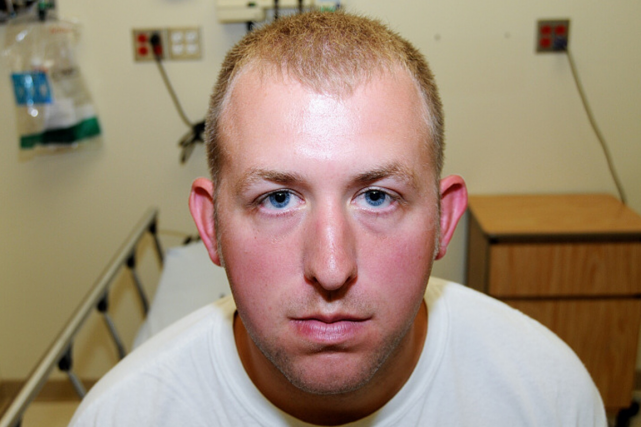 L'ex-policier Darren Wilson a abattu Michael Brown, un... (Photo AFP)