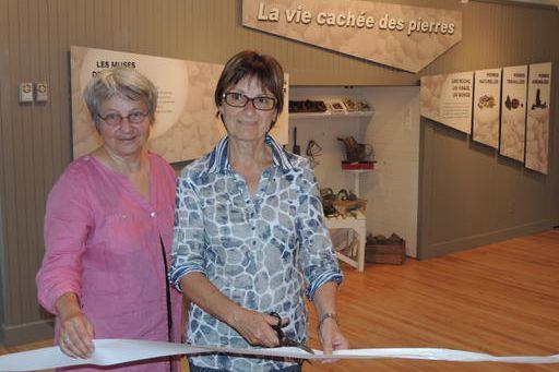 À l'inauguration de la Maison culturelle Laurier-Gauthier, la... (La Tribune, Ronald Martel)