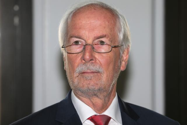 Le procureur général fédéral de l'Allemagne, Harald Range.... (Photo Ralf Stockhoff, AP)