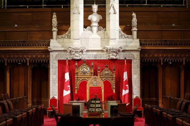 «Certains peuvent bien vouloir abolir le Sénat, mais... (PHOTO CHRIS WATTIE, REUTERS)
