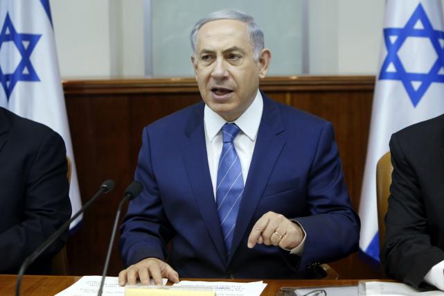 Le premier ministre israélien, Benyamin Nétanyahou.... (Photo Gali Tibbon, archives AP)