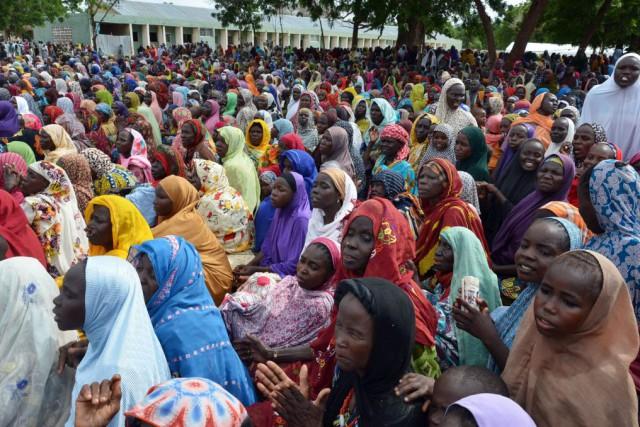 L'offensive du groupe extrémiste Boko Haram a tué... (Photo AFP)