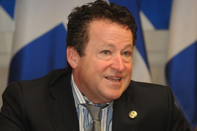 Le député de Nicolet-Bécancour, Donald Martel.... (François Gervais)