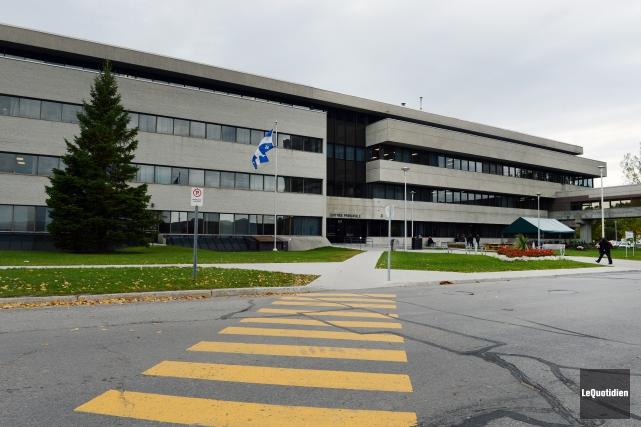 L'Université du Québec à Chicoutimi (UQAC). Le recteur... ((Archives Le Quotidien))