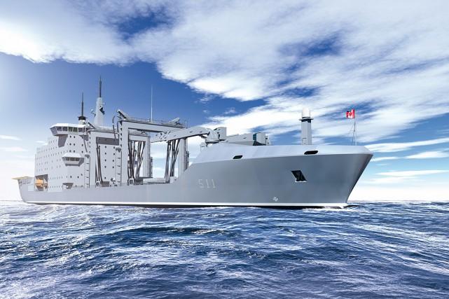 Dans le contexte du Projet Resolve, la Marine... (Photo fournie par Chantier Davie)