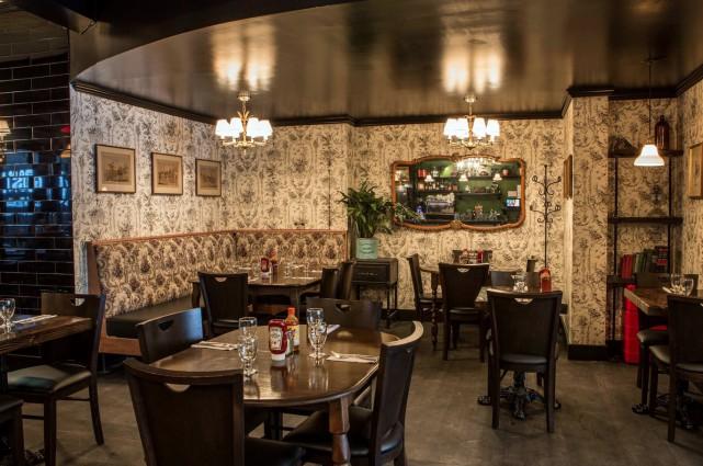 L'un des quatre restaurants montréalais L'Gros Luxe... (Photo tirée de Facebook)