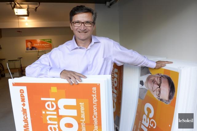 G. Daniel Caron est lecandidat du NPD dans... (Le Soleil, Jean-Marie Villeneuve)
