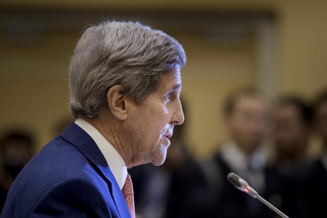 Le patron de la diplomatie américaine a fait... (PHOTO REUTERS)