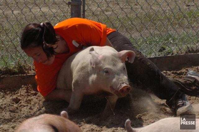 L'organisme canadien pour un traitement éthique des animaux... (Photothèque La Presse)