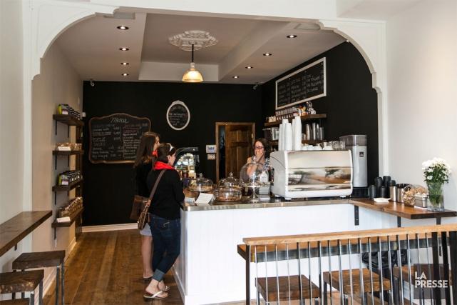 Le H8S Bar à café est installé dans... (PHOTO HUGO-SÉBASTIEN AUBERT, LA PRESSE)