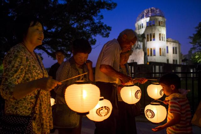Sept décennies après la bombe, cette ville de... (PHOTO REUTERS)