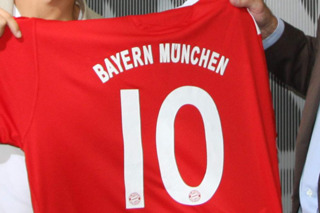 Un maillot du Bayern Munich.... (Photo archives Reuters)