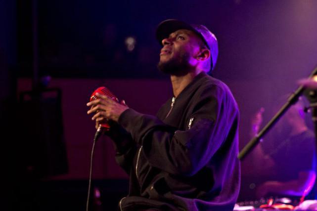 Mos Def était hier soir sur la scène...