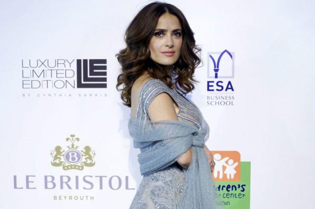 L'actrice Salma Hayek admet que les studios hollywoodiens ne l'appellent plus... (PHOTO AP)