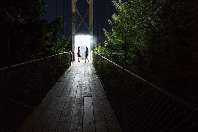 Après une fermeture temporaire de deux soirées, Foresta lumina reprend du... (Photo tirée de Facebook)