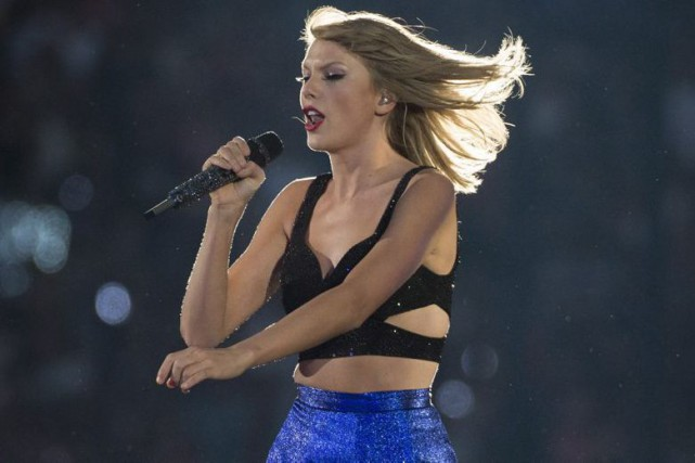 Taylor Swift... (PHOTO LA PRESSE CANADIENNE)