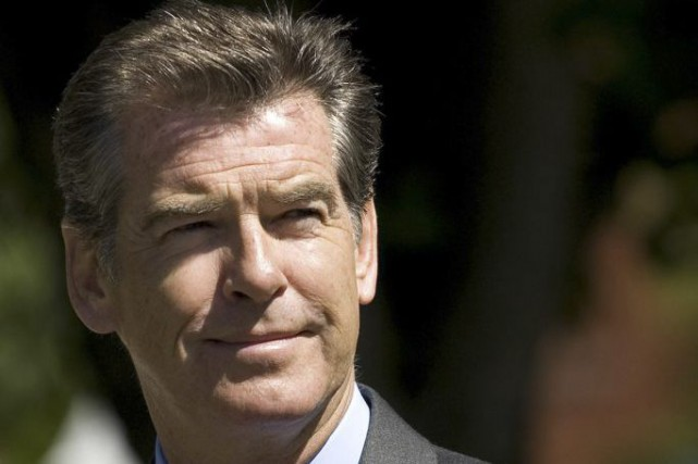 Pierce Brosnan... (PHOTO ARCHIVES AFP)