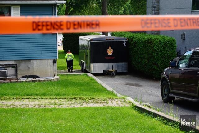 Les autorités ont toujours des témoins à interroger... (Photo Yannick Fleury, La Presse)