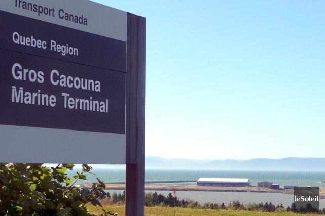 Le port de Gros-Cacouna est à vendre par... (Photothèque Le Soleil)