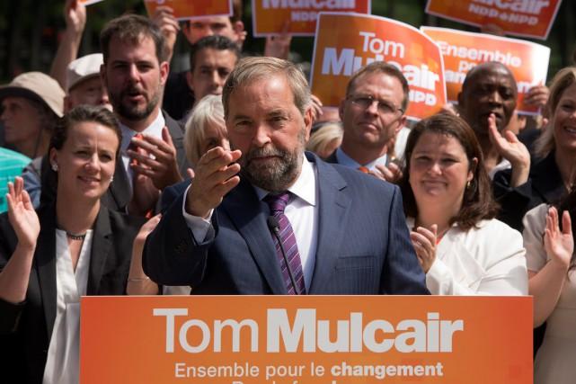 Thomas Mulcair est perçu comme un bon débatteur.... (La Presse Canadienne)