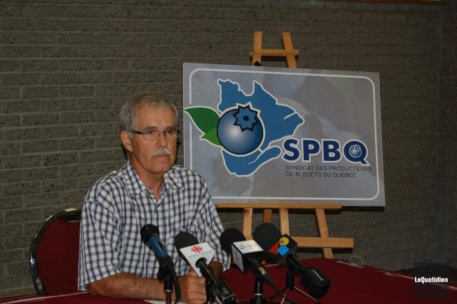 Marc Larouche , président du Syndicat des producteurs... ((Archives Le Quotidien))