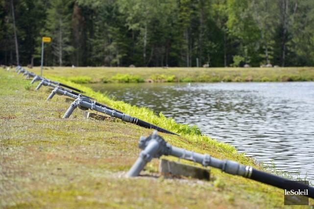 Les maires de Stoneham et de Lac-Delage souhaitent... (Le Soleil, Yan Doublet)