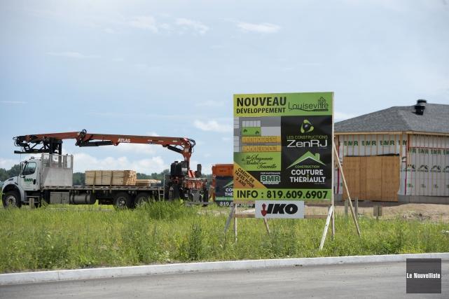 Le conseil municipal de Louiseville s'est réuni mercredi... (Photo: Stéphane Lessard Le Nouvelliste)